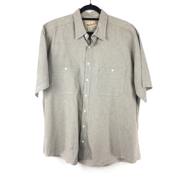 Woolrich Other - Woolrich Sz XL Button Front Short Sleeve Shirt